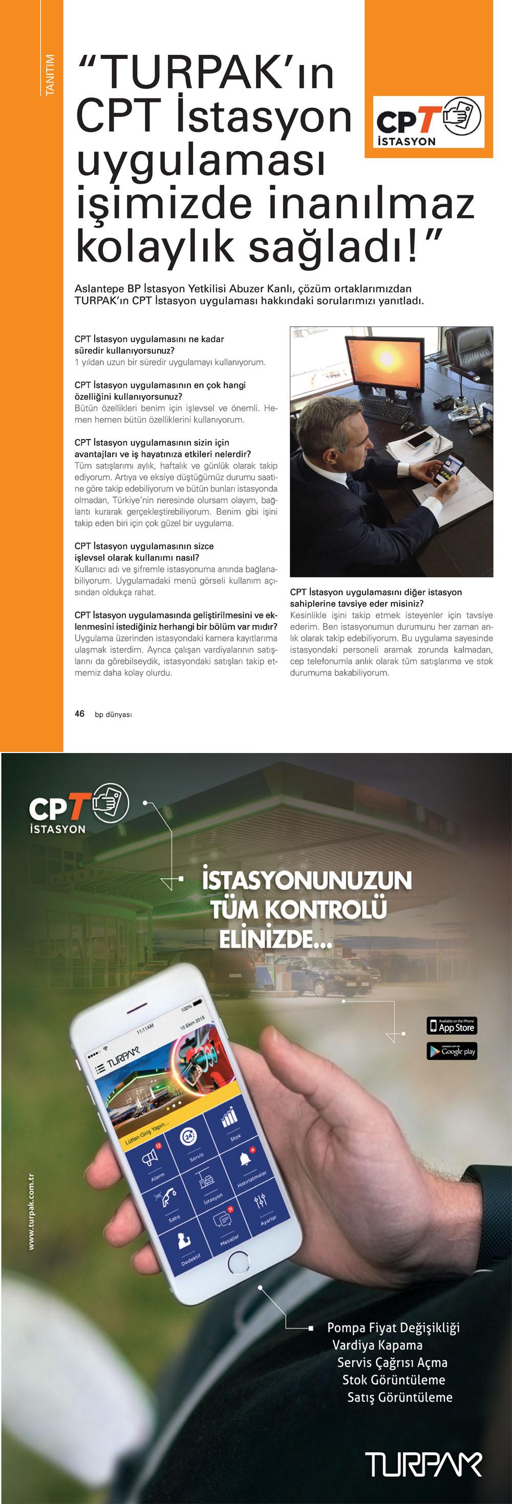 BP Dünyası Dergisi